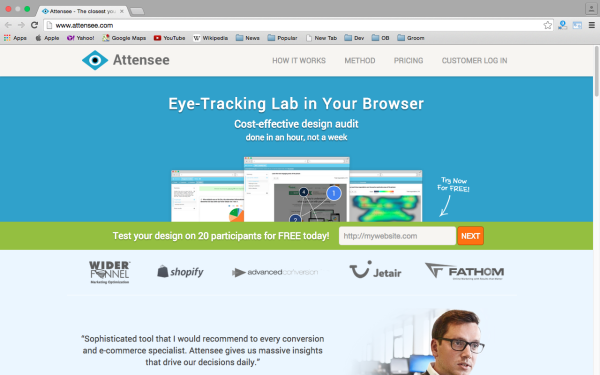 best UX (User Experience) wireframing tools  - attensee