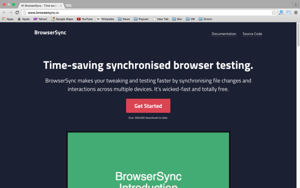 best fresh web development tools for march 2015 - browsersync