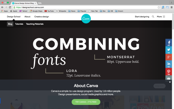 best free online tools for creating infographics  - canva