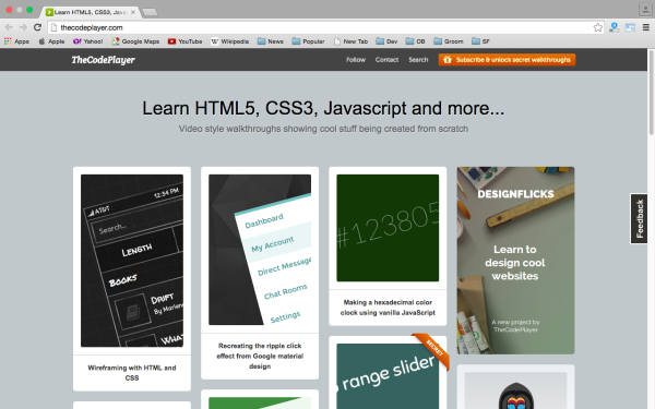 best way to learn CSS3 online - coeplayer