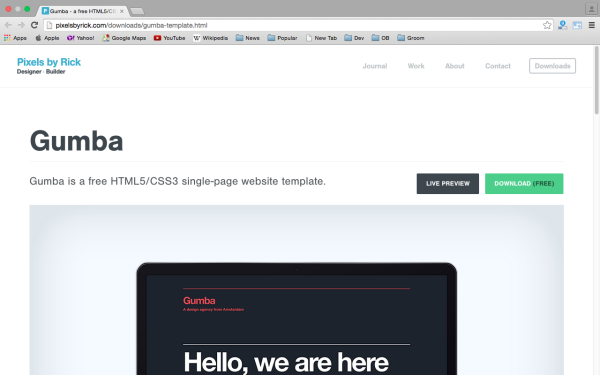 fresh best tools for year 2015 for web developers- gumba
