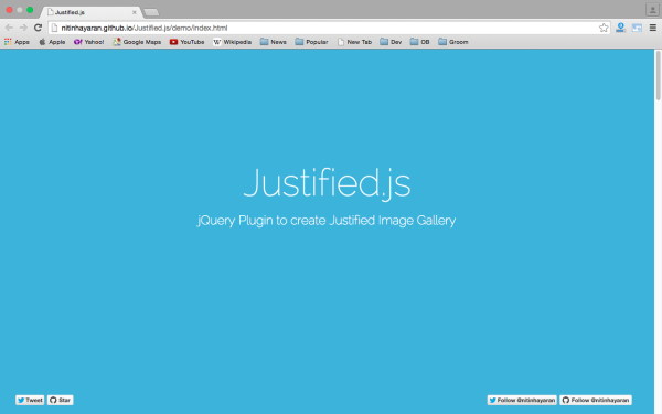 best libraries and tools for responsive web  jstifiedjs