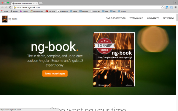 best resources and tutorials to learn AngularJS - ng-book