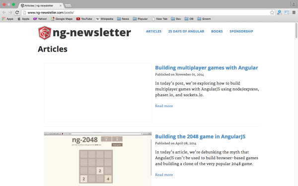 best resources and tutorials to learn AngularJS - ns-newslatter