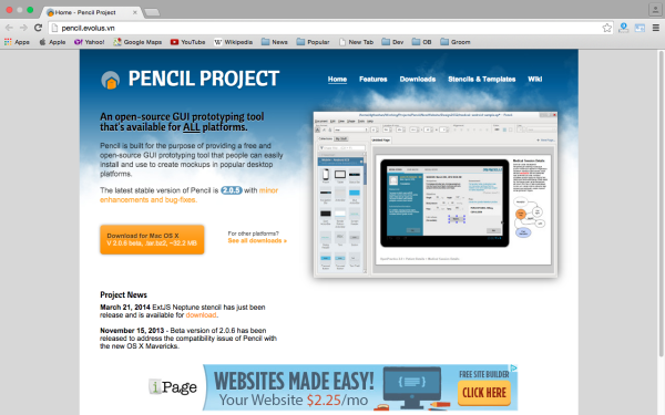 best UX (User Experience) tools  - pencil-project