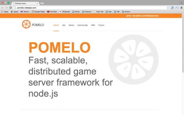 best node.js tools for year 2015 - pomelo