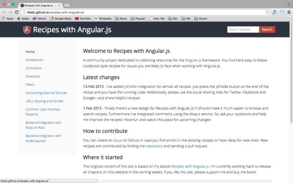 best resources and tutorials to learn AngularJS - reciepeangularjs