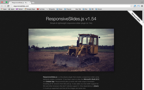 best libraries and tools for responsive web  - responsiveslide
