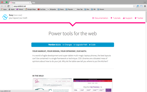 best tools and libraries for responsive web  - susy