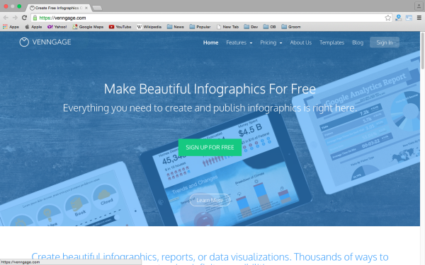 best free online tools for creating infographics  - venngage