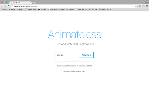 best css animation tools  - animations-css