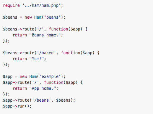 ham - best PHP libraries for developers