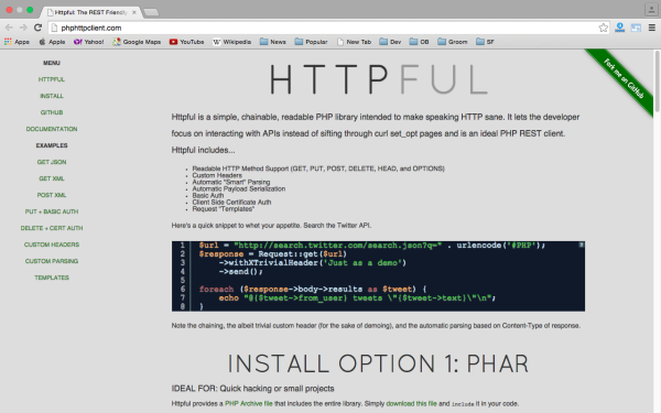 httpclient - best PHP libraries for developers