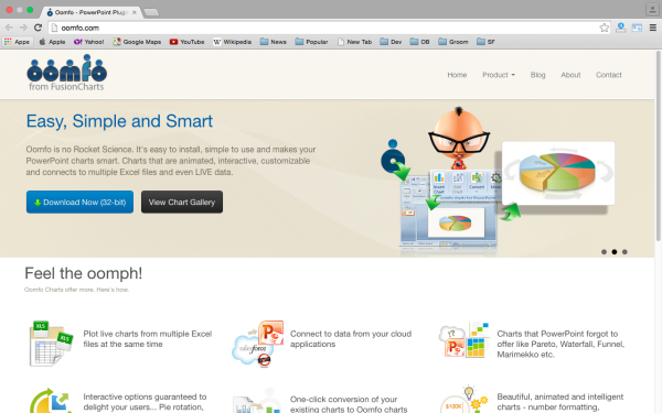 oomfo - top best free presentation tools