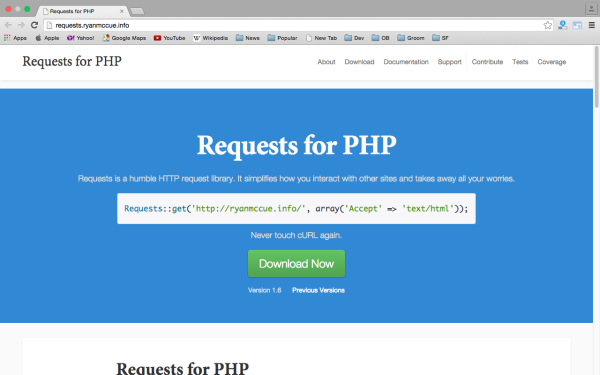 request - best PHP libraries for developers