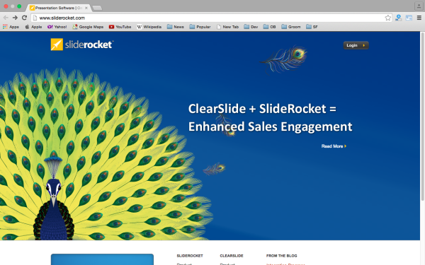 sliderocket - top best free presentation tools