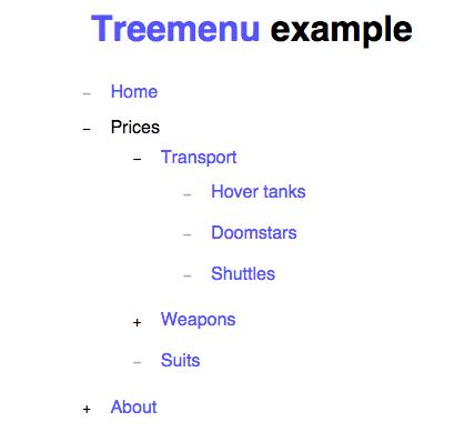 treemenujs