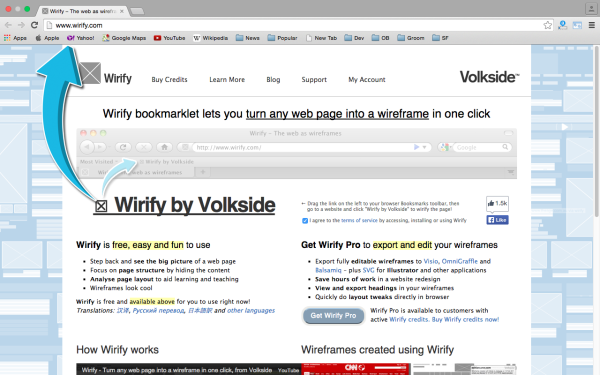 wirify - best prototyping tools for 2015