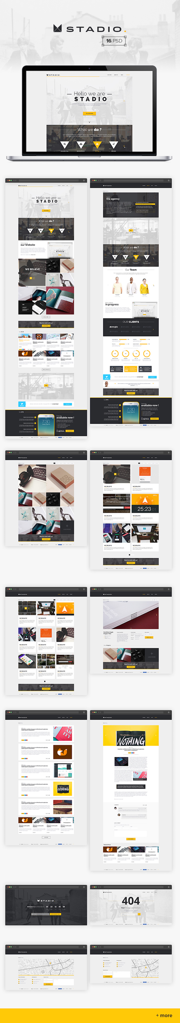 best-free-website-psd-templates