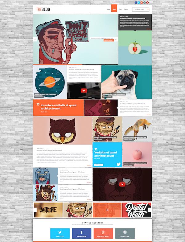 best-free-website-psd-templates