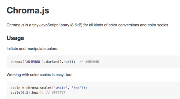 chroma.js - best resources for web designers for 2015