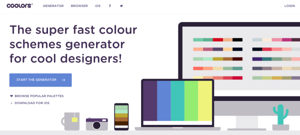 colors - best resources for web designers for 2015