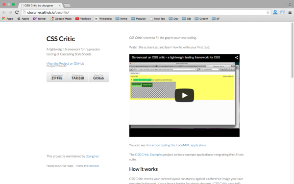 csscritic - best css tools for year 2015