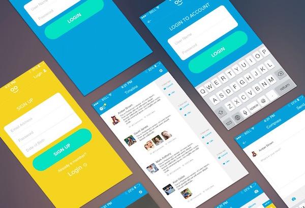 free-mobile-ui-psd-kits