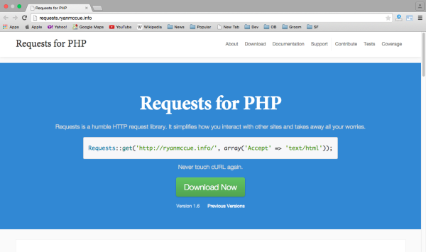 requests for php - Best PHP development tools 2015
