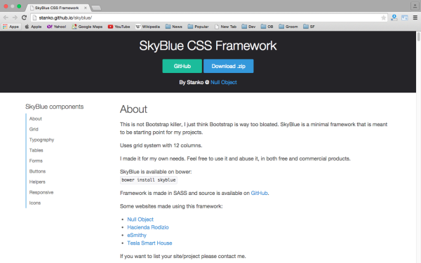skyblue - best css tools for year 2015