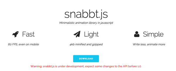 snabbatjs - best resources for web designers for 2015