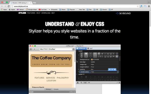 stylizer - best css tools for year 2015