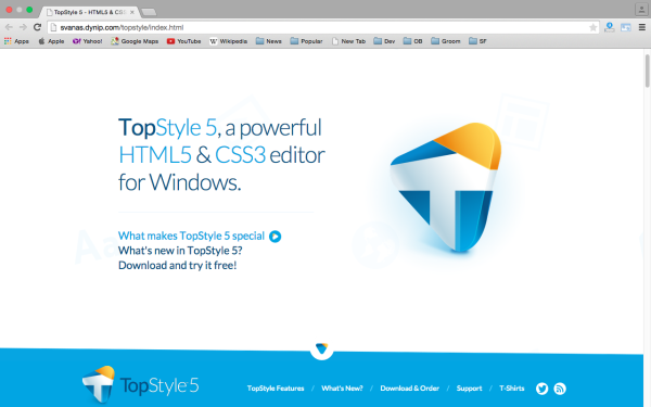 topstyle5 - best css tools for year 2015