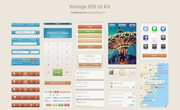 free-vintage-ios-kit copy