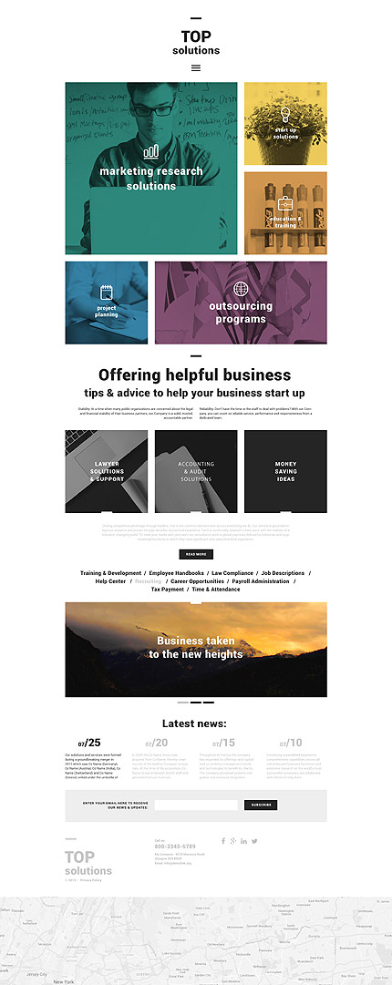 Business Blog WordPress Theme