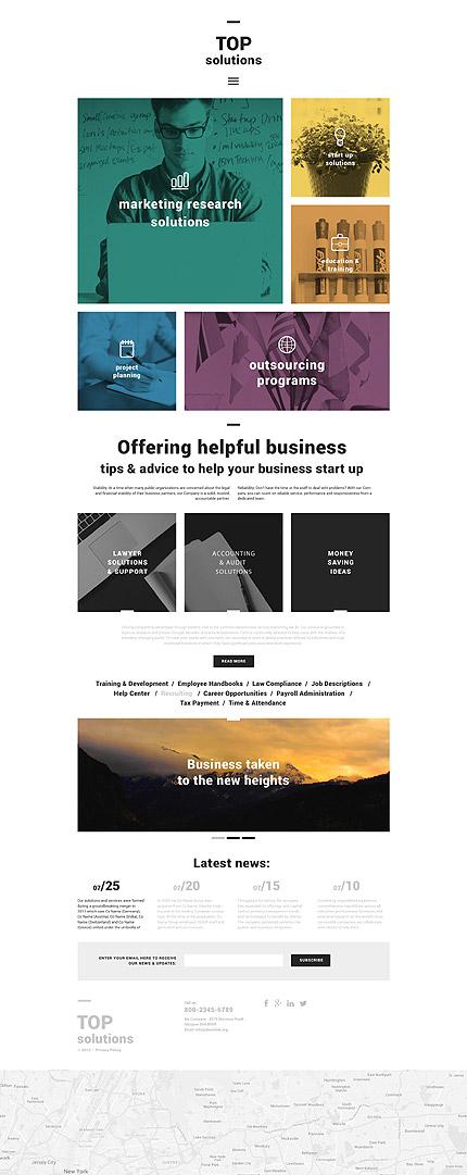 Business Blog WordPress Theme