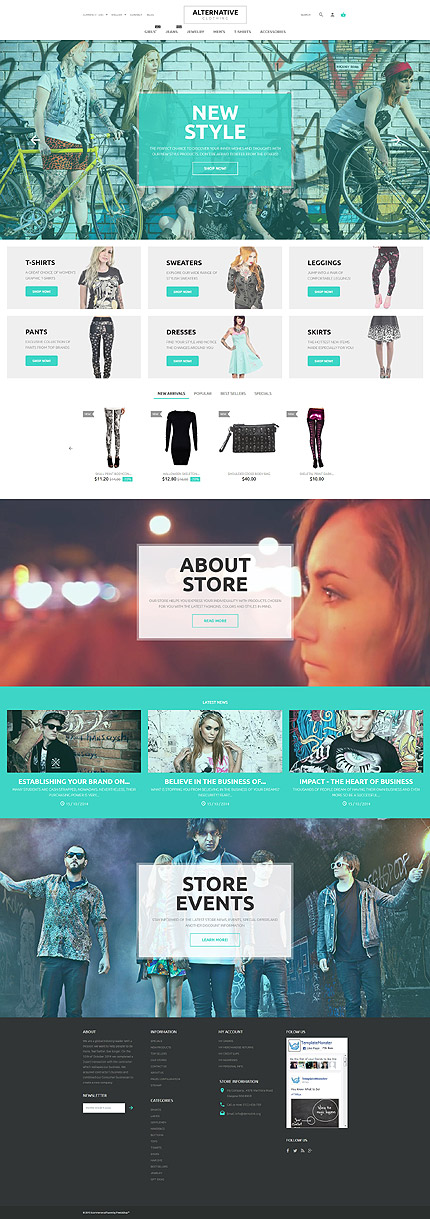 Street Fashion PrestaShop Theme